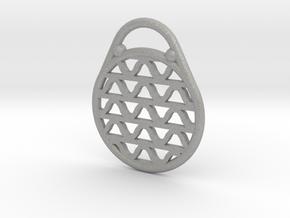 DRAW pendant - waves H in Aluminum