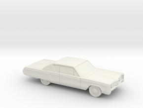 1/87 1967 Chrysler 300 Coupe in White Natural Versatile Plastic