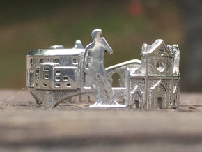 Florence Skyline - Cityscape Ring in Polished Silver: 9 / 59