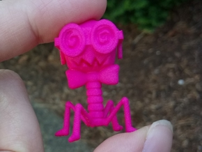 Doctor Phage in Pink Processed Versatile Plastic
