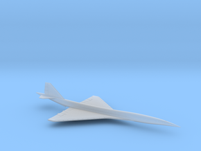 1/600 BOEING 2707 SUPERSONIC TRANSPORT (SINGLE) in Smooth Fine Detail Plastic