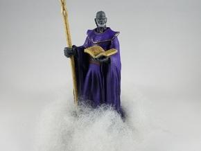 Zephyros the Cloud Giant Wizard in White Natural Versatile Plastic