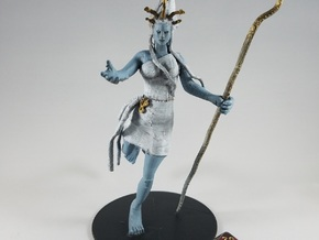 Princess Nym in White Natural Versatile Plastic