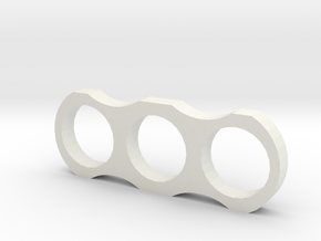 Fidgit Spinner in White Natural Versatile Plastic