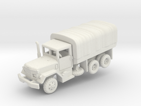 M35A2 2.5t Duce with tarp in White Natural Versatile Plastic: 1:160 - N