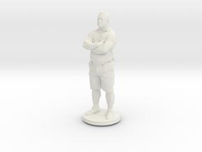 Printle C Homme 407 - 1/87 in White Natural Versatile Plastic