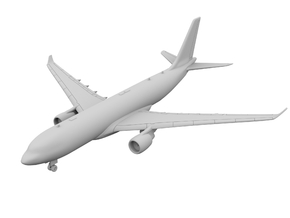 1:500 - A330-200 in Smooth Fine Detail Plastic