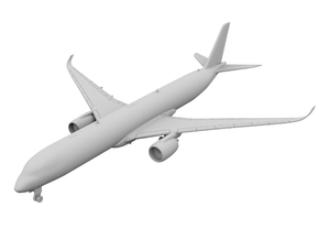 1:500 - A350-1000 in Frosted Ultra Detail