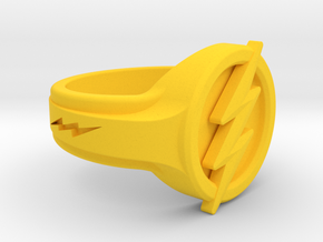 The Flash Ring in Yellow Processed Versatile Plastic: 7 / 54