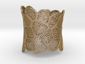 Bracelet KLM (1) in Polished Gold Steel
