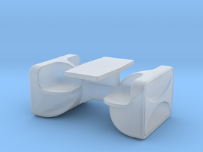 Unibloc 4 Table (Space: 1999), 1/30 in Smooth Fine Detail Plastic