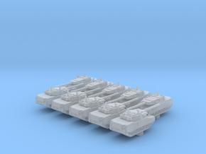 1/600 US Stingray II Light Tank x10 in Smooth Fine Detail Plastic