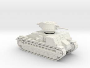 Vickers Medium Mk.C (1:56 scale) in White Strong & Flexible