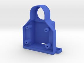 Rotastage Back-Cover in Blue Processed Versatile Plastic