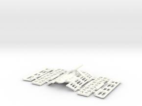 4100 Mk 2 Wake Island in White Processed Versatile Plastic