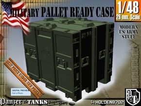 1-48 MM08 Pallet Ready Case in Green Processed Versatile Plastic