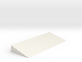 KC02 Rubber Wedge in White Natural Versatile Plastic