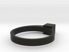 Staccato Cubico in Black Natural Versatile Plastic: 5 / 49