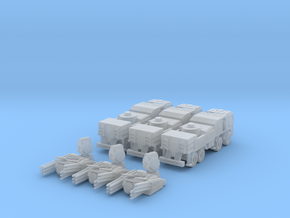 Pantsir S1 1:160 (set of 3) in Smooth Fine Detail Plastic