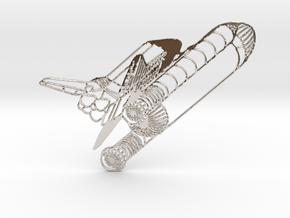Challenger Space Shuttle in Platinum