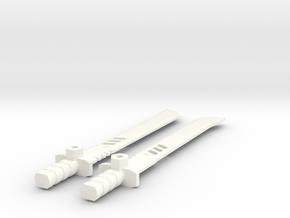 TLK: Metallikato Blade for Drift in White Processed Versatile Plastic
