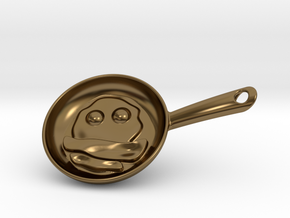 Eggs And Bacon Little in Polished Bronze