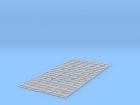 Feldbahn Erweiterung 4 (Gerade) in Smooth Fine Detail Plastic