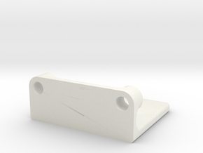 Rmp Bearing Encoder Mount 2 in White Natural Versatile Plastic