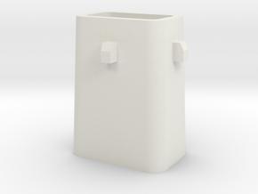 Stahlkokille 4 Zapfen mit Boden 1:120 in White Strong & Flexible