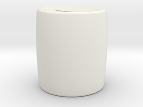 Moneybox mini in White Natural Versatile Plastic
