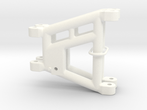 045018-00 Omega Rear Arms in White Processed Versatile Plastic