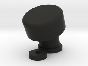 1/10 SCALE FJ CRUISER BUTTON SNORKEL in Black Natural Versatile Plastic