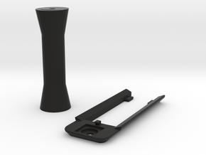 DJI Mavic Pro Mount & Riser for Samsung Gear 360 in Black Natural Versatile Plastic