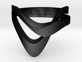 KAZE METAL in Matte Black Steel: 4 / 46.5