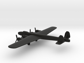 Dornier Do 19 in Black Natural Versatile Plastic: 6mm