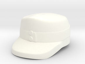 Alpine Infantry Cap in White Processed Versatile Plastic