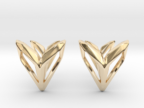 Phantom, Cufflinks. Space Chic in 14K Yellow Gold