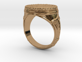 The Egyptian Ring SMK Contest in Polished Brass: 12 / 66.5