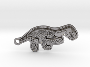 N&A_Dino-7cm in Polished Nickel Steel