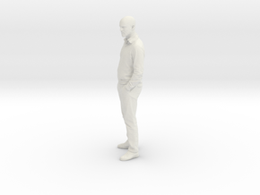 Printle C Homme 013 - 1/87 - wob in White Strong & Flexible