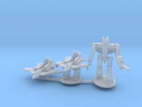Omega Fighter on Sprue in Smooth Fine Detail Plastic