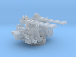 1/172 USN 40mm Quad Bofors Mount in Smooth Fine Detail Plastic