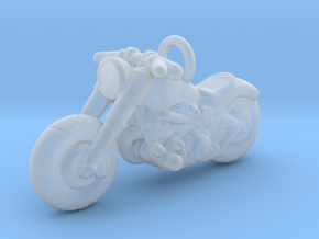 Harley Davidson Pendant in Smooth Fine Detail Plastic