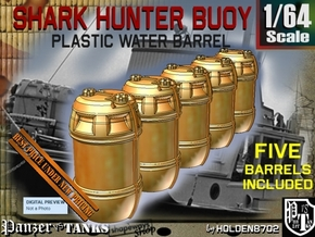 1-64 Shark Hunter Barrel in Smooth Fine Detail Plastic