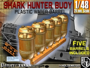 1-48 Shark Hunter Barrel in Yellow Processed Versatile Plastic