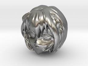 1/20 Rei Ayanami Head Sculpt in Natural Silver