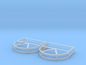 Ptf Fire Hose Rack in Smoothest Fine Detail Plastic