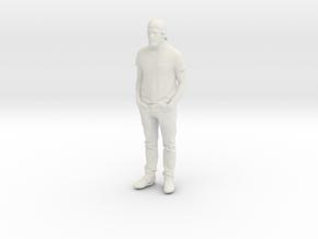 Printle C Homme 266 - 1/87 - wob in White Natural Versatile Plastic