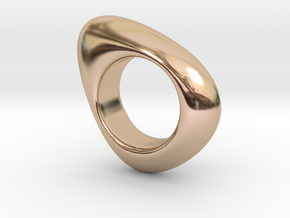 Fluid in 14k Rose Gold Plated Brass: 7 / 54