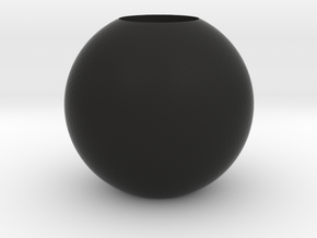 Acoustic Sphere (12.8mm mic) (32mm diameter) in Black Natural Versatile Plastic